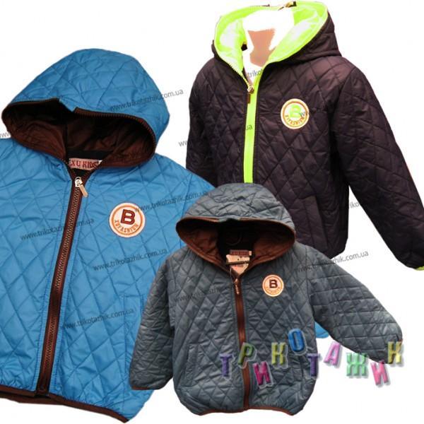 Куртка для мальчика B-style. Сезон весна-осень
