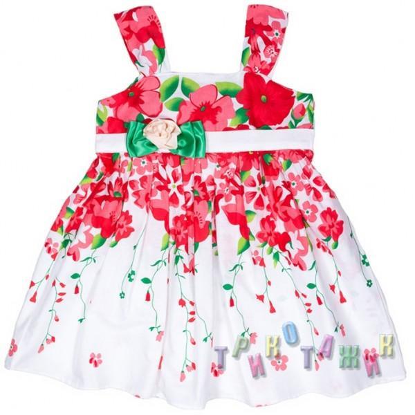 Платье трикотажное, А-821