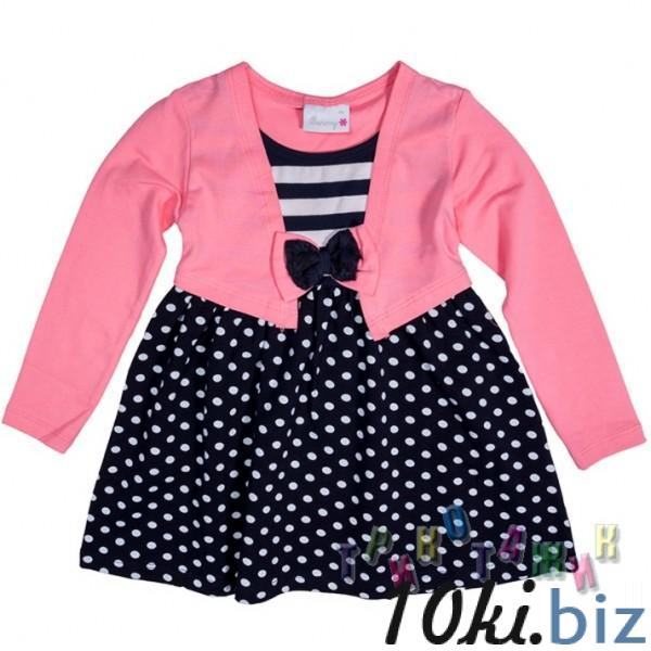 Платье трикотажное, м.2168. Розовое - Платья детские для девочек на Хмельницком рынке