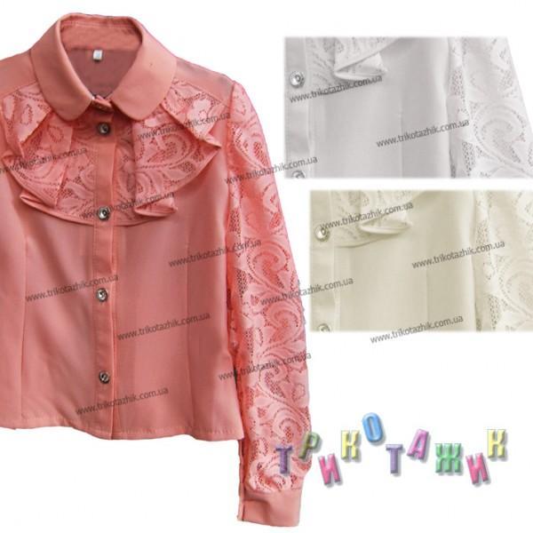 Блуза школьная, модель 14