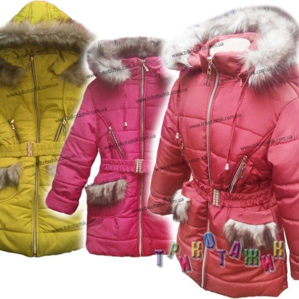 Куртка для девочки, Надя. Сезон Зима.