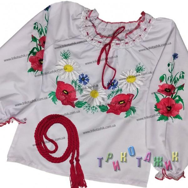 Вышиванка для девочки, модель 333