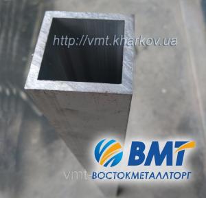 Фото Труба профильная алюминиевая Труба профильная алюминиевая