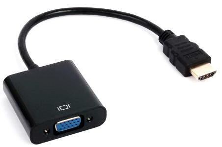 Перехідник HDMI→VGA 20 см