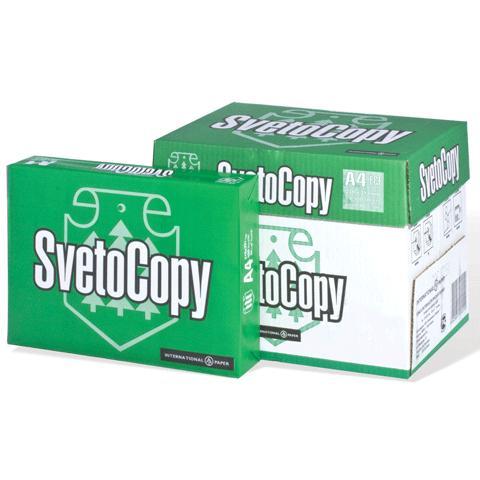 Бумага SvetoCopy  А4 80g/m2, 500л (Светокопи)