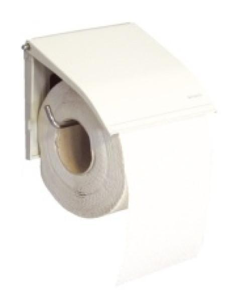 Держатель туалетной бумаги для бытовых рулонов эмалированный (Польша)