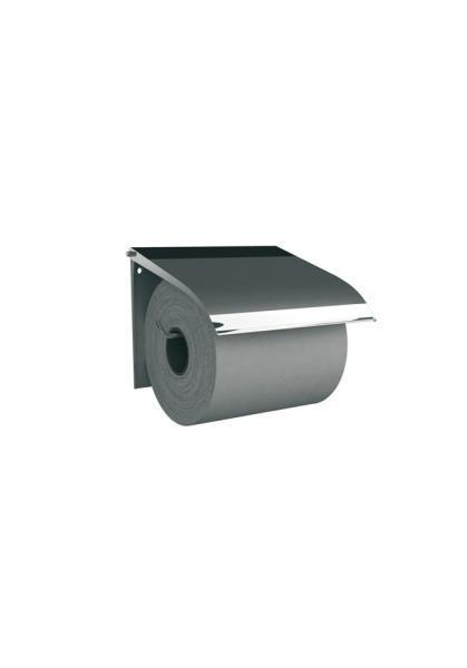Держатель туалетной бумаги для бытовых рулонов (металл/матовый). (Польша)