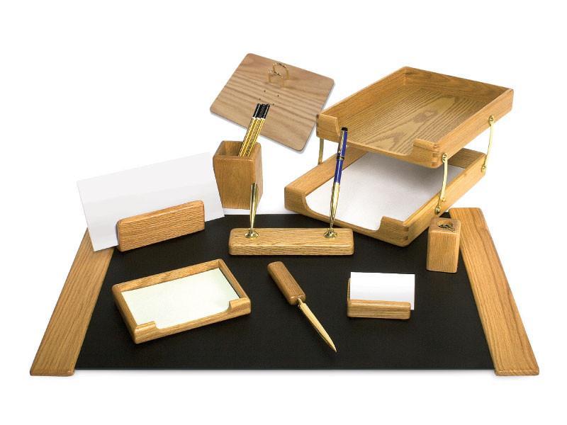 Набор настольный премиум FORPUS деревянный, 9 предметов