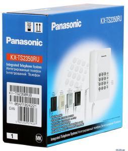 Фото Телефоны и факсы Телефон PANASONIC KX-TS2350RUT