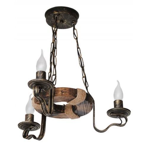 Колесо Люстра 3 лампы