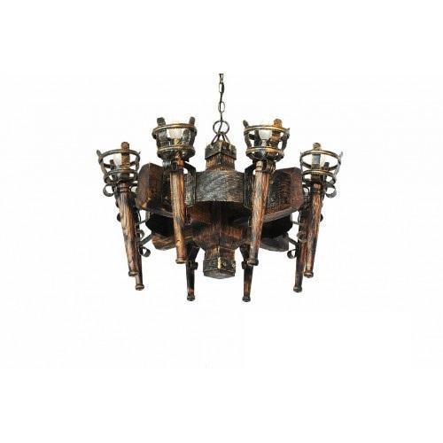 Факел  римский Люстра 8 ламп