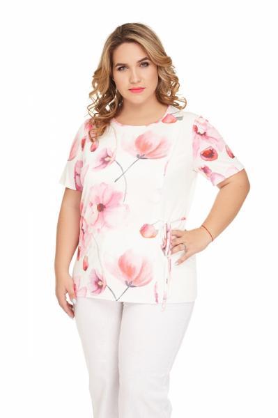 834 Блуза Тюльпан