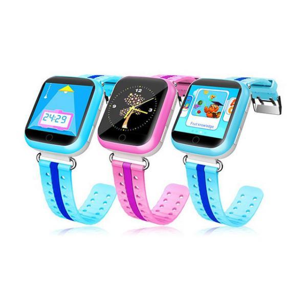 Детские GPS часы с трекером Smart Baby Watch Q750 с сенсорным экраном + WiFi