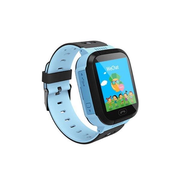 Детские GPS часы с трекером Smart Baby Watch Q528 с фонариком