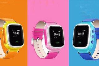 Детские GPS часы с трекером Smart Baby Watch Q100 с сенсорным экраном + WiFi