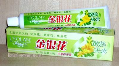 Зубная паста с жимолостью японской