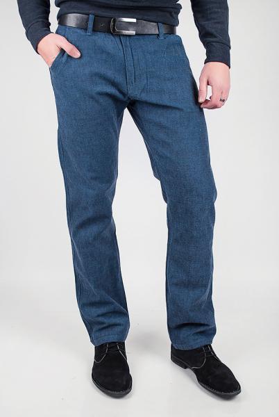 Брюки мужские синие №225KF071 (Темно-лазурный)