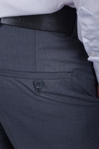 Фото  Брюки мужские классические №81F004 (Серый)