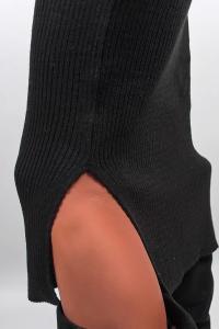 Фото  Платье-чулок женское ниже колена №251F001 (Черный)
