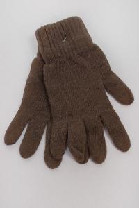 Фото  Перчатки теплые вязаные №261F005 (Хаки)