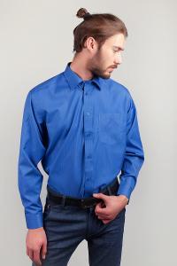 Фото  Рубашка Fra №713-22 (Синий)