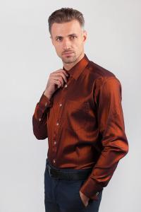 Фото  Рубашка Fra №817-11 (Бронзовый)