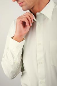 Фото  Рубашка классическая светлая Fra №869-21 (Светло-оливковый)