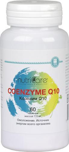 Коэнзим Q10 Нутрикеа, таблетки, 60 шт