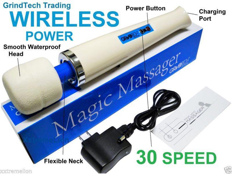 Вибромассажер Magic Wand Wireless беспроводной