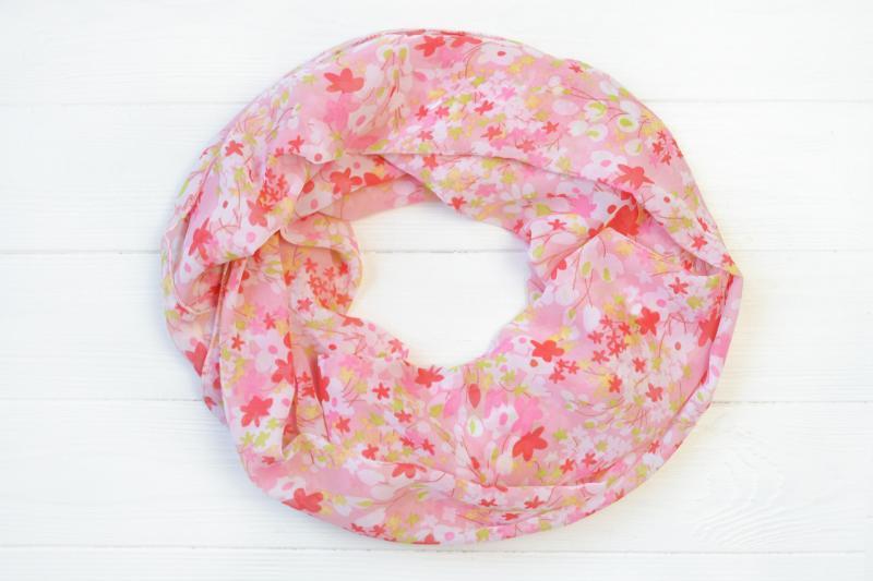 Снуд Наина розовый
