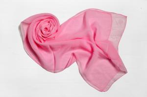Фото Шарфы Шарф Меланья однотонный розовый