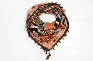 Фото Платки Платок Тайра коричневый