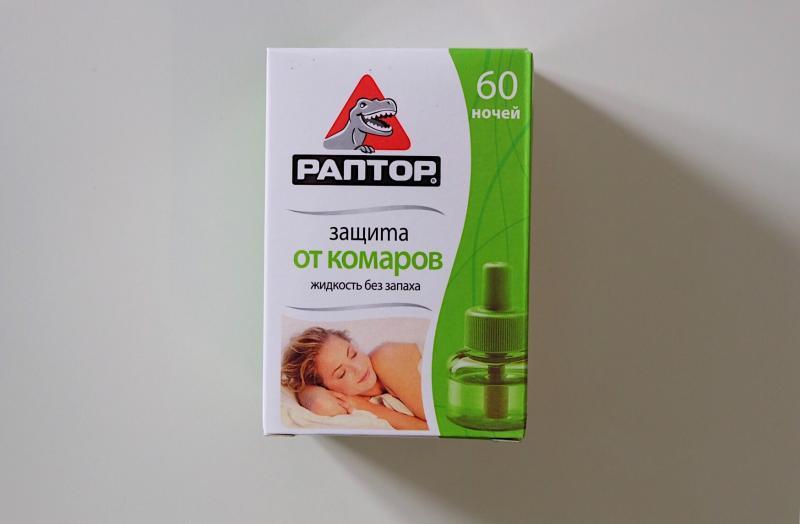 РАПТОР  Жидкость 60 ночей