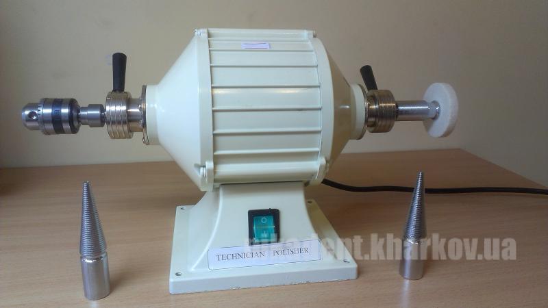 Фото Для зуботехнических лабораторий, ОБОРУДОВАНИЕ Мотор полировальный DM-WCJ 370W (с комплектующими)