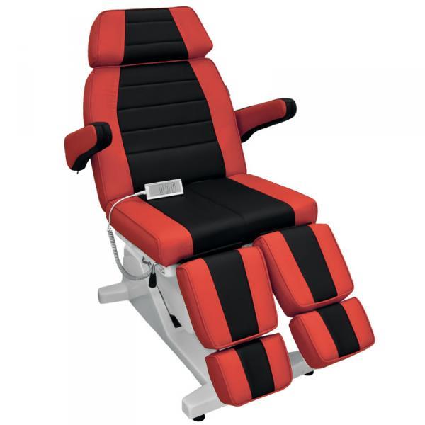 Кресло Гранд черно-красное (10323), стул (10316)