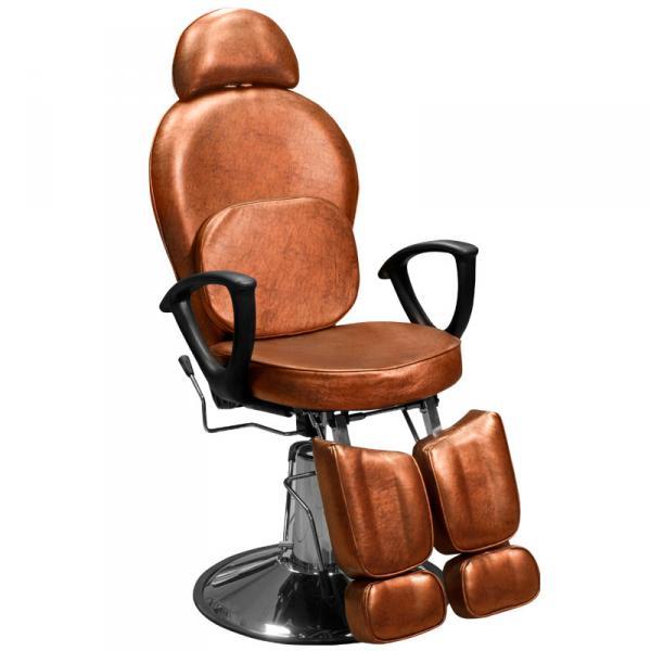Кресло педикюрное Эконом бронзовое