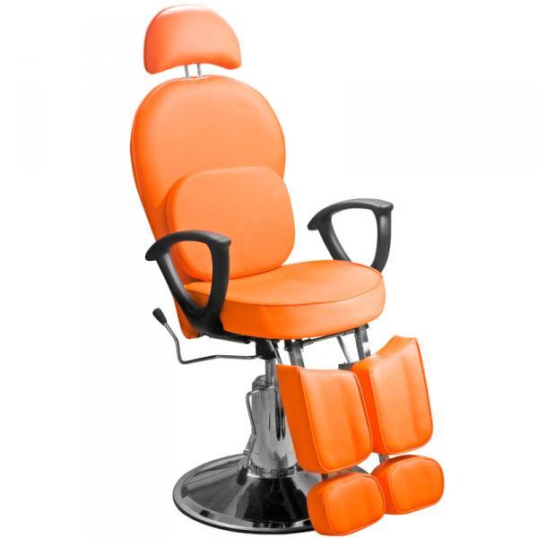 Кресло педикюрное Эконом оранжевое