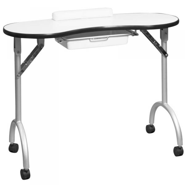 Стол для маникюра складной Simple белый