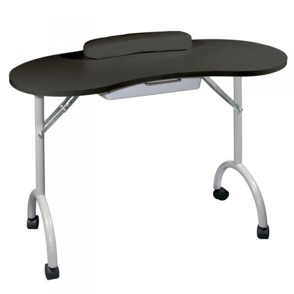Стол для маникюра складной Simple черный