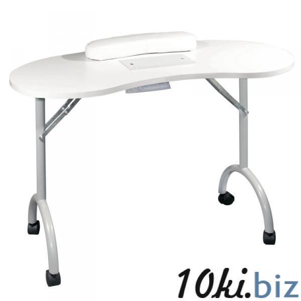 Стол для маникюра складной с пылесосом Simple Plus белый Маникюрные столы в России