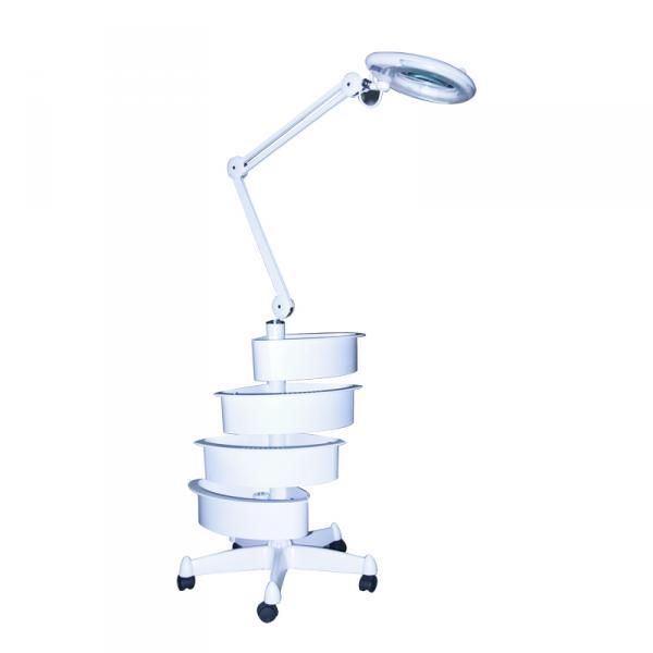 Лампа-лупа Magnific 16 напольная 5 диоптрий с ящичками
