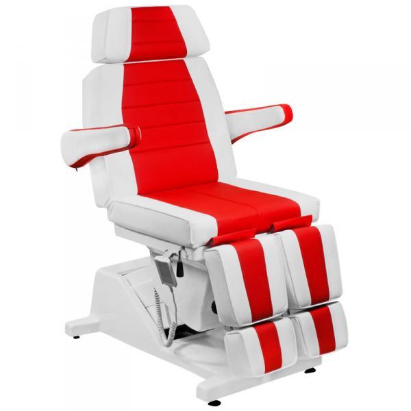 Кресло Гранд красно-белое (10313), стул (10301)