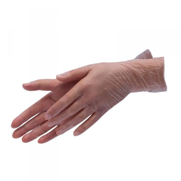 Перчатки виниловые, XL, 100шт/уп