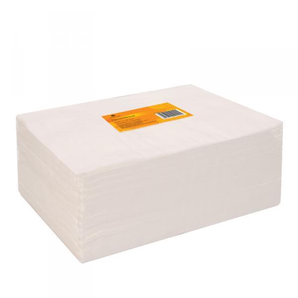 Полотенце 45*90 см белое (50шт в пачке)