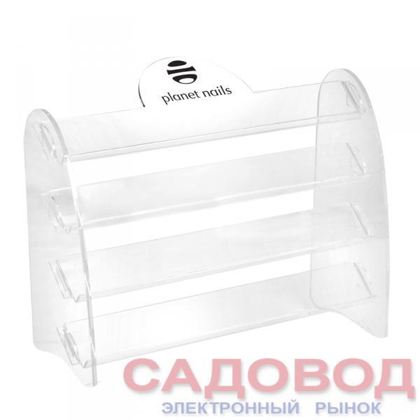 Подставка для лаков с логотипом 4 яруса 28Х20 см Подставки для лаков на рынке Садовод