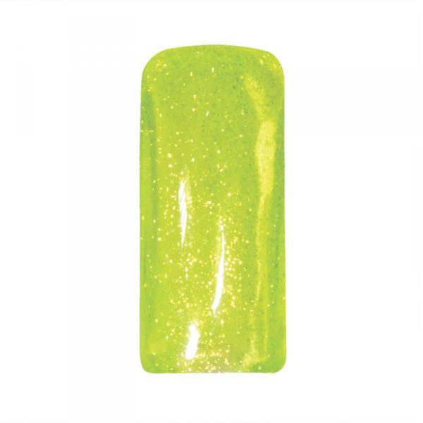 Гель-глиттер Planet Nails - неоново-желтый 5г