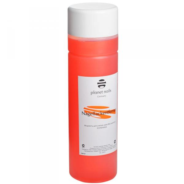 Жидк. для снятия лака клубника 500мл