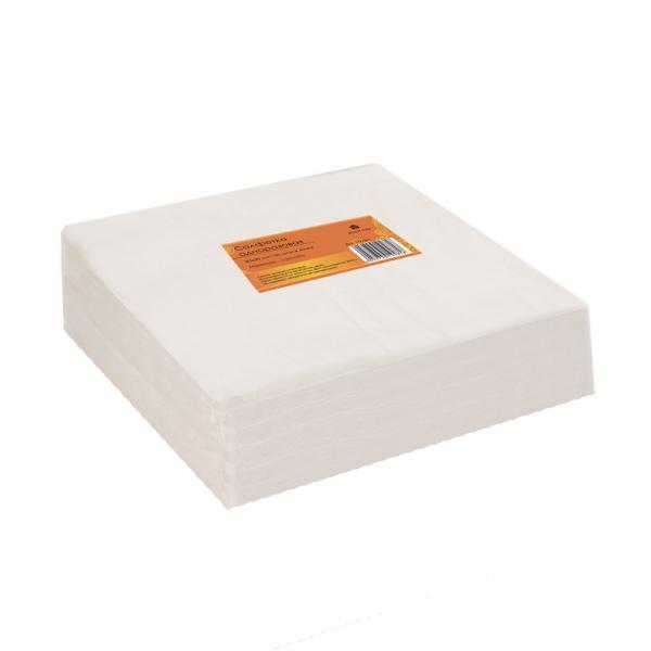 Салфетка одноразовая 30*30 см белая (100шт в пачке)
