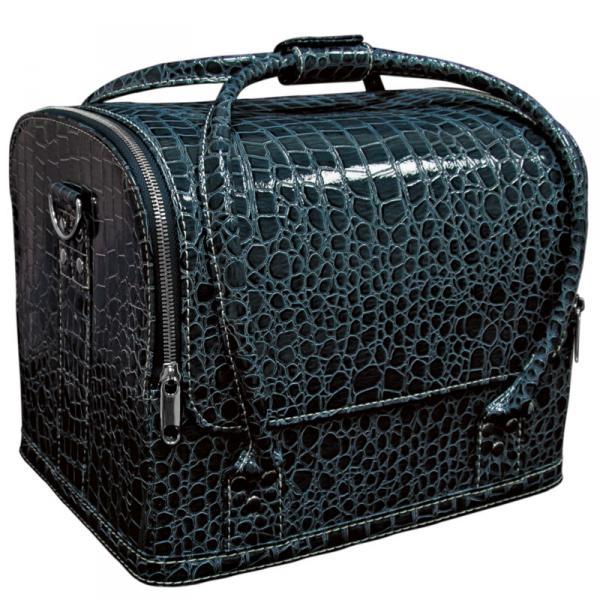 Сумка-чемодан темно синяя Crocodile