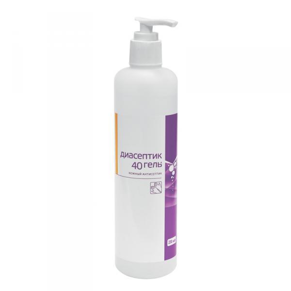 Диасептик 40 - гель-антисептик для кожи 250 мл